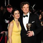 Colin Firth and wife Livia at the BAFTAs 55468