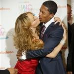 Mariah Carey and Nick Cannon at the Teen Nick Halo awards in DC 52015