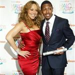 Mariah Carey and Nick Cannon at the Teen Nick Halo awards in DC 52024