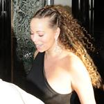 Mariah Carey in London at Claridge's 35929