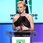 Carey Mulligan accepts Supporting Actress Hollywood Award for Shame  97076