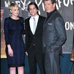 Carey Mulligan with Pierce Brosnan and Johnny Simmons at The Greatest premiere 57648