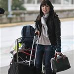 Carly Rae Jepsen in Vancouver at YVR heading for Los Angeles  106794