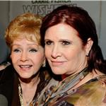 Carrie Fisher and Debbie Reynolds and family at Wishful Drinking premiere 74802