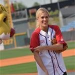 Carrie Underwood at City of Hope's 22nd annual Celebrity Softball Challenge during CMA Fest 117371