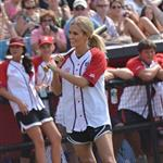 Carrie Underwood at City of Hope's 22nd annual Celebrity Softball Challenge during CMA Fest 117372