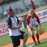 Carrie Underwood at City of Hope's 22nd annual Celebrity Softball Challenge during CMA Fest 117382