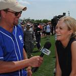 Carrie Underwood at City of Hope's 22nd annual Celebrity Softball Challenge during CMA Fest 117383