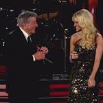 Carrie Underwood and Tony Bennett perform at the 54th Annual Grammy Awards  105637