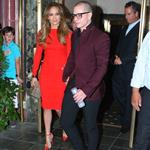 Jennifer Lopez and Casper Smart head out to celebrate her 43rd birthday 121625