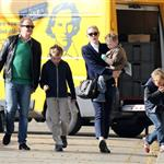 Cate Blanchett holiday in Paris with sons and husband Andrew Upton  110397