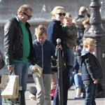 Cate Blanchett holiday in Paris with sons and husband Andrew Upton  110407