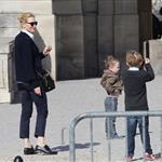 Cate Blanchett holiday in Paris with sons and husband Andrew Upton  110410