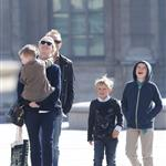 Cate Blanchett holiday in Paris with sons and husband Andrew Upton  110415