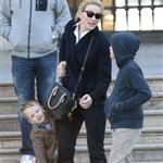 Cate Blanchett holiday in Paris with sons and husband Andrew Upton  110417