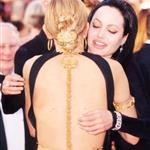 Cate Blanchett with Angelina Jolie at the 72nd Annual Academy Awards, March 26, 2000 106206