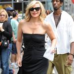 Kim Cattrall as Samantha Jones filming the Sex and the City movie sequel in NYC 45983