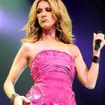 Celine Dion on tour last year 53311