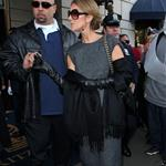 Celine Dion after her shopping spree in New York 48691