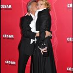 Emma Thompson cheers up Sean Penn at Cesar Awards 34019