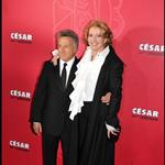 Emma Thompson cheers up Sean Penn at Cesar Awards 34020