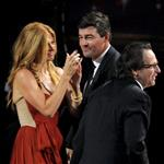 Kyle Chandler celebrates his Emmy win with Connie Britton 101422