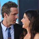 Sandra Bullock and Ryan Reynolds at the premiere of The Change-Up 91021