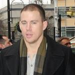 Channing Tatum outside the the BBC Radio 1 studios in London  103334