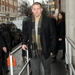 Channing Tatum outside the the BBC Radio 1 studios in London  103338