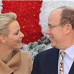 Princess Charlene of Monaco and Prince Albert II of Monaco attend the 'Arbre de Noel' 2011 For Monaco Children 100647
