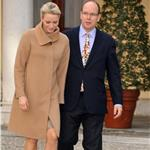 Princess Charlene of Monaco and Prince Albert II of Monaco attend the 'Arbre de Noel' 2011 For Monaco Children 100649