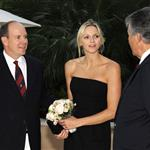 Prince Albert and Charlene Wittstock at the Monte Carlo Golf Club 100th anniversary 92922