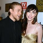 Charlie Hunnam and guest arrive at Broadcast Television Journalists Association Second Annual Critics' Choice Awards 120660