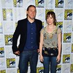 Charlie Hunnam and Maggie Siff at Comic Con 2012 120678