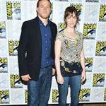 Charlie Hunnam and Maggie Siff at Comic Con 2012 120680