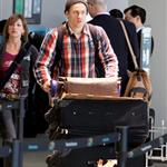 Charlie Hunnam catches a flight in Toronto 111723
