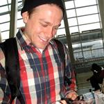 Charlie Hunnam catches a flight in Toronto 111724