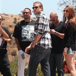 Charlie Hunnam on the set of Sons Of Anarchy  119411