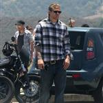 Charlie Hunnam on the set of Sons Of Anarchy  119415