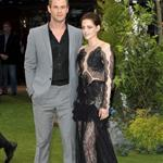 Kristen Stewart and Chris Hemsworth at the London premiere of Snow White and the Huntsman 114484