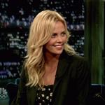Charlize Theron on Fallon to promote The Burning Plain 47129