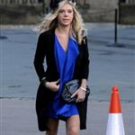 Chelsy Davy and Pippa Middleton attend a wedding wearing fascinators  80601
