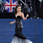 Cheryl Cole performs on stage during the Diamond Jubilee concert at Buckingham Palace on June 4, 2012 in London, England 116812