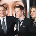 Chet Haze with his parents Tom Hanks and Rita Wilson at the Extremely Loud & Incredibly Close New York premiere  120227