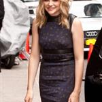 Chloe Moretz at The Late Show with David Letterman 113362