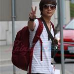 Justin Chon arrives in Vancouver to shoot Eclipse  45499