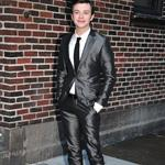 Chris Colfer at Letterman  78584