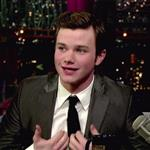 Chris Colfer at Letterman  78587