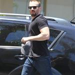 Chris Evans heads to the dermatologist  in Studio City 121507