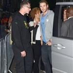 Chris Hemsworth arrives at the Puma Yard - Jamaica Independence day held at the Boiler house in Brick Lane, London 124298